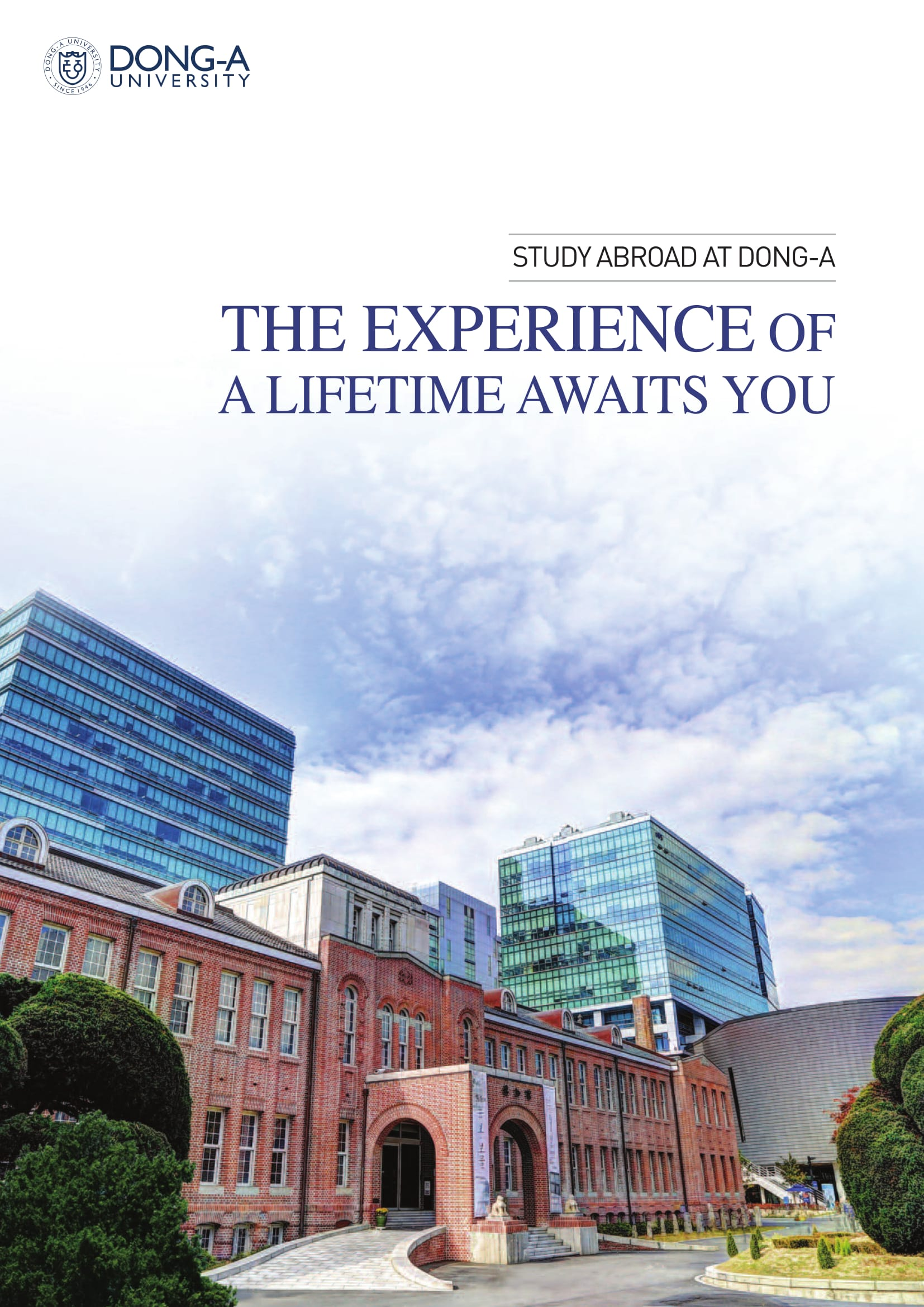 Dong-A University brochure(2017)-1