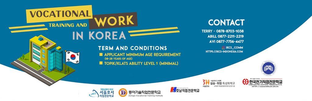 Vocational Training Program In South Korea Ikc S