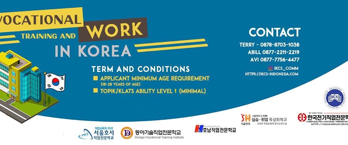 Vocational Training Program In South Korea Ikc S